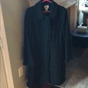 Worthington wool coat - Large